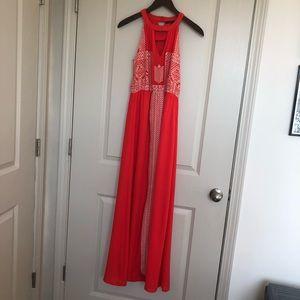 THML maxi dress size XS